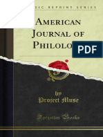 American Journal of Philology 1880 1000226048