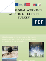 Global Warming and Its Effects in Turkey