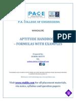 Aptitude Handbook Www.vtulife.com