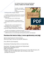 Agro Forestry Guides for Pacific Islands