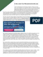 Crea Tu Pagina Web Sin costo Con Miconstructorweb.com