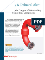 FMC-Avoiding the Dangers of Mismatching Swivel Joint Components