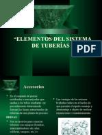 Elementos Del Sistema de Tuberias