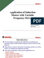 VFD Application for Induction Motors
