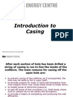 SLIDE 6 Casing Introduction
