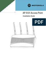 AP-5131 Access Point Installation Guide (Part No. 72E-124689-01 Rev. a )