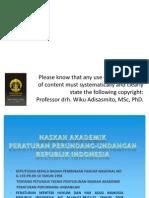 PKK Naskah Akademik