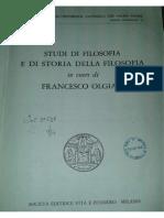 """E. Severino, Nota su """"I fondamenti della logica aristotelica"""" di Calogero"""