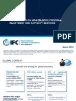 IFC's Banking on Women (BoW) Program
