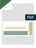 3.4.1 Kondisi Balanced
