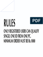 online working rule