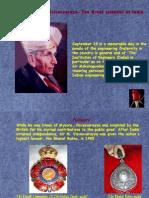1 Sir Mokshgundam Aacharya Praffulla Roy Chandrasekhar Cvr