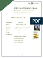 Informe de Campo Con Pasos