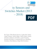 Safety Sensors and Switches Market worth $7.85 billion by 2018