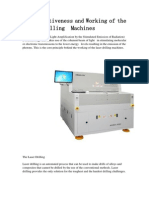 The Effectiveness and Working of the Laser Drilling Machines