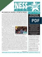 Fairness Campaign Newsletter December 2009