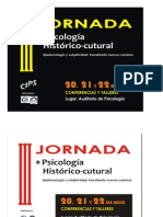 III Jornada Afiche - Propuesta Máriori