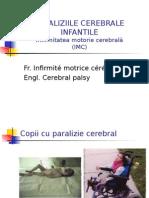 Paraliziile cerebrale