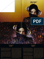 Michael Jackson's Booklet Xscape