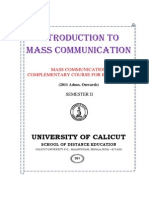 Sm Mass Communication