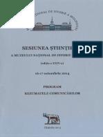 Sesiunea Ştiinţifică a MNIM 2014, Chișinău