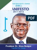 Forum For Democratic Change- FDC Campaign Manifesto 2011-2016