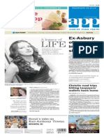Asbury Park Press front page Wednesday, June 24 2015
