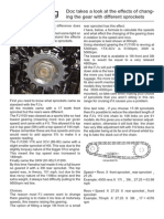 FJ Gearing Sheet