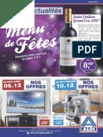ALDI Actualites en Vente Le 06-12-2014