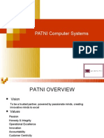 PATNI Computer Systems