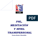 Pnl, Meditacion y Nivel Transpersonal