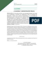 Convenios Entre La Consejería de Educación y La UEx Para El Desarrollo de Las Prácticas Docentes - Másteres Con Prácticas Docentes