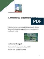 Lancio Del Disco Giovanile - Antonella Meregalli