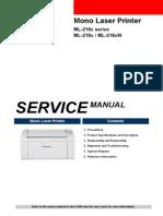 Service ML 2160 Samsung