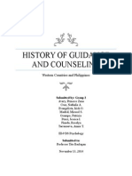 History of Guidance and Counseling