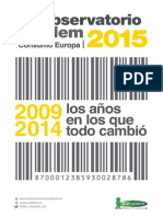 Cetelem Observatorio Consumo Europa 2015. La crisis no aleja el placer