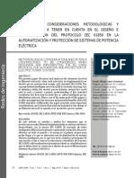 Criterios y Consideraciones Metodológicas Iec 61850