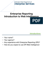 Intro to WebI