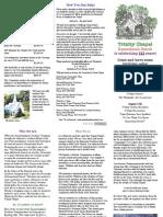 brochure trinitychapel2015