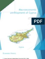 Macroeconomic Development of Cyprus