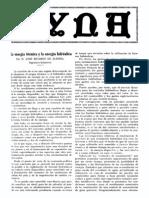 1926-06-001 La Energia Termica y La Energia Hidraulica (Parte 1)