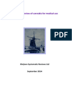 Systematic review of cannabis for medical use