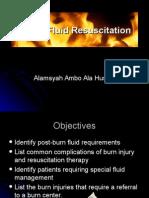 Burn Fluid Resuscitation