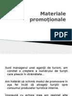 Matemateriale promotionaleriale promoţionale