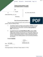 BURTON v. MCINTOSH et al - Document No. 4