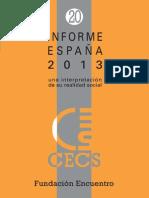 Fundación Encuentro-Informe España 2013