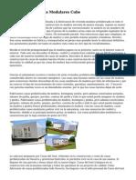 Casas Prefabricadas Modulares Cube