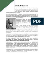 A Fórmula Do Sucesso - Paulo Fernando v. Mendonça - Revista