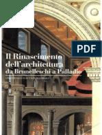 Bertrand Jestaz - Il Rinascimento dell'architettura da Brunelleschi a Palladio