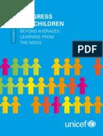 Progress for Children No. 11 22June15